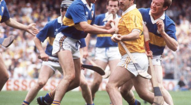 Antrim's Olcan McFetridge was a 1989 cup final hero and he has good advice for the current hurling squad