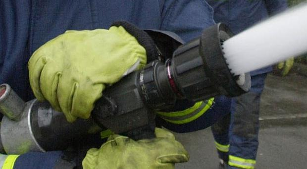 A man has died following a fire at a house in Northern Ireland