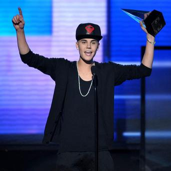 Justin Bieber was voted the top Canadian newsmaker of the year