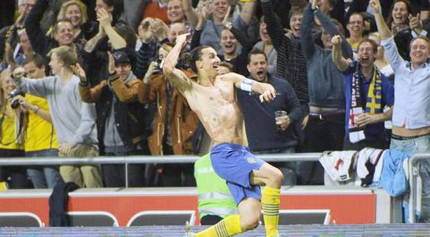 <b>Zlatan Ibrahimovic, Sweden v England, November, selected by Sam Wallace</b><br/> It would have been hard enough to pull off if he was facing goal with the ball sitting up nicely for him to hit. To lob Joe Hart with an overhead kick executed with his back to goal did rather put the ribbons on it.