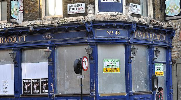 Wales, Northern Ireland and the North West had suffered the greatest number of pub and shop closures