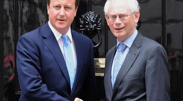 European Council president Herman Van Rompuy warned over British attempts to claw back powers from Brussels