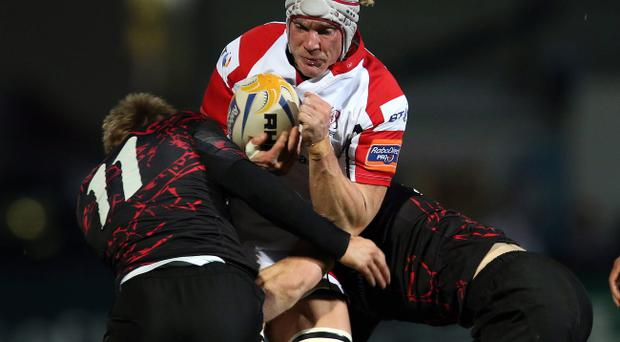 Mike McComish has praised the influence of Ulster coach Mark Anscombe