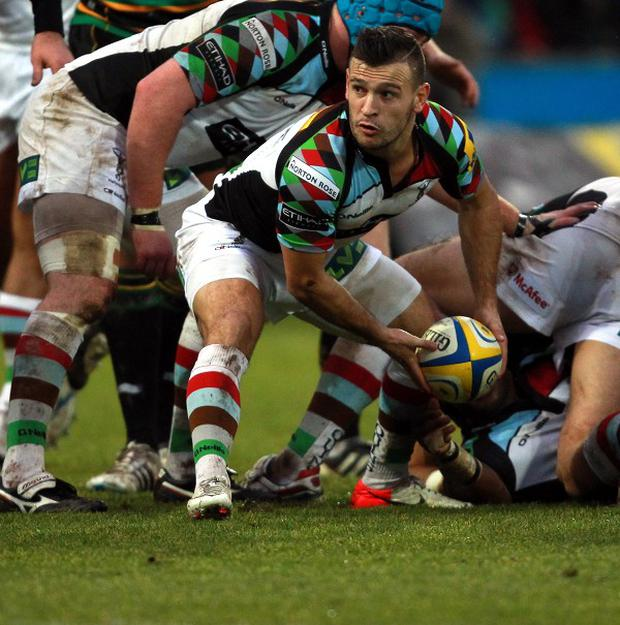 Danny Care scored a second-half try for Harlequins