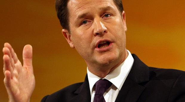A leaked Lib Dem document builds on Deputy Prime Minister Nick Clegg's message that only his party can deliver a strong economy and fair society