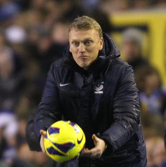 David Moyes wants his team to maintain their form into 2013
