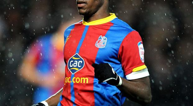 Wilfried Zaha says he is ready to play in the Barclays Premier League