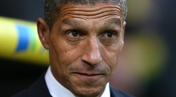 Canaries boss Chris Hughton admitted some 'key decisions' had gone against his side