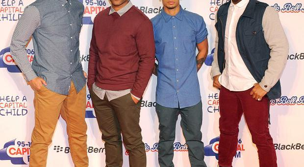 JLS have been crowned Britain's 'hardest-working band in 2012'
