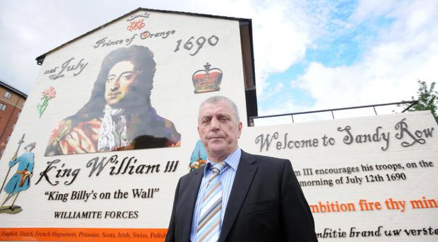 Jackie McDonald has warned that loyalist protests cannot succeed in having the Union flag reinstated above Belfast City Hall