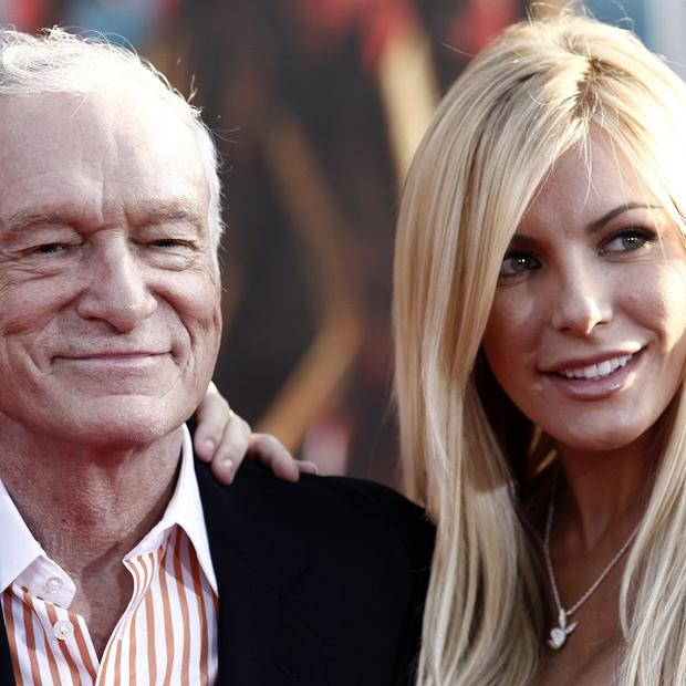Hugh Hefner and Crystal Harris have got hitched