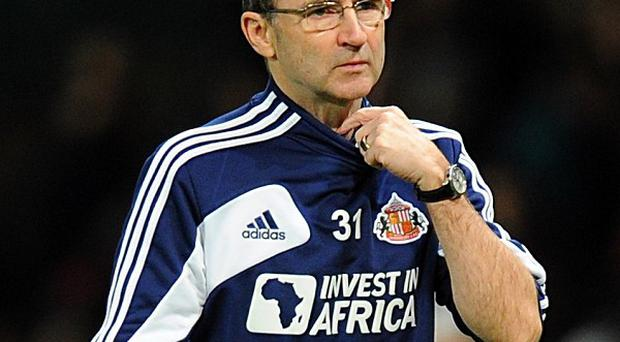 Martin O'Neill takes his Sunderland team to Anfield on Wednesday