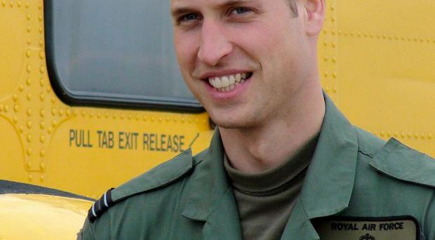 Search and Rescue pilot Prince William took part in an operation to find a man swept into the sea off Blackpool