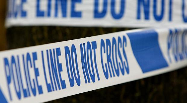 A man was stabbed in the Whiterock Drive area of Belfast
