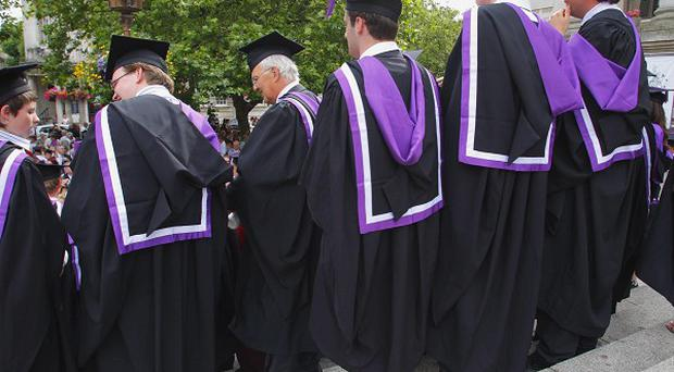 Fewer people are applying to go to university, UCAS said