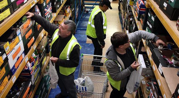 Charity leaders have condemned a senior Conservative's comments on food banks