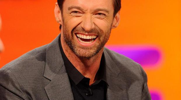 Hugh Jackman loves singing in the shower