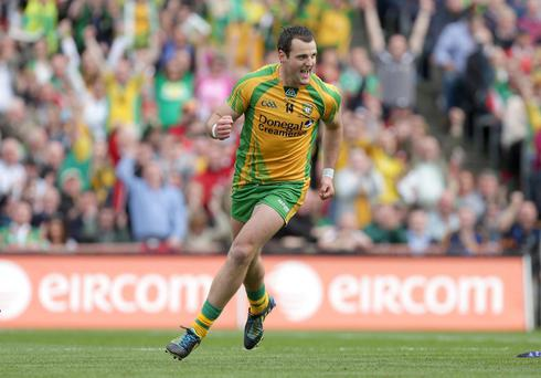Michael Murphy and Donegal were All Ireland winners in 2012