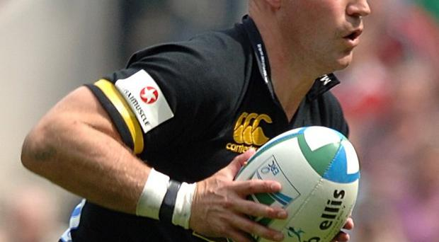 Alex King in action for Wasps during his playing days