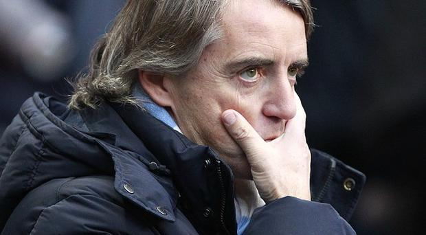Roberto Mancini, pictured, is looking ahead following the latest confrontation with Mario Balotelli
