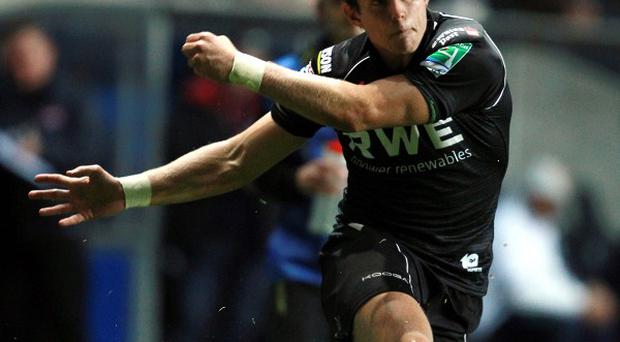 Dan Biggar scored 16 points as Ospreys defeated Zebre