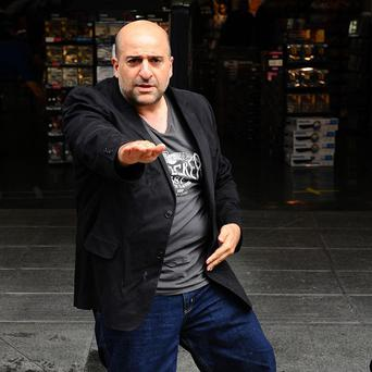 Omid Djalili made a splash with the judges on the new reality show