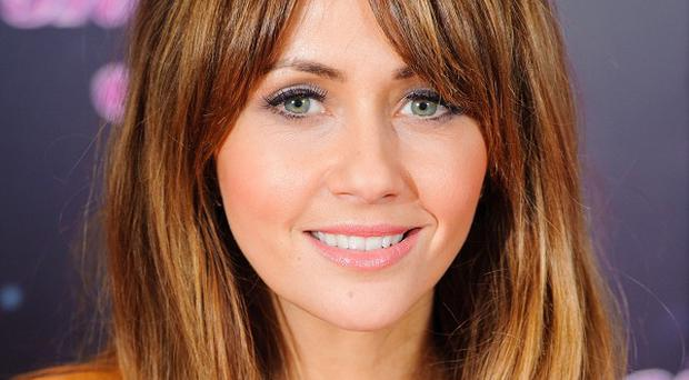 Samia Ghadie and dance partner Sylvain Longchambon were first to take to the ice on Sunday
