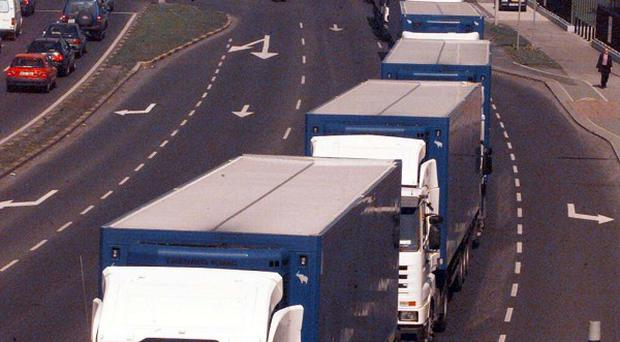 A haulage firm is set to slash its workforce