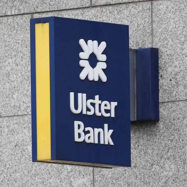 Ulster Bank reported operating losses of £164m for the first quarter of 2013
