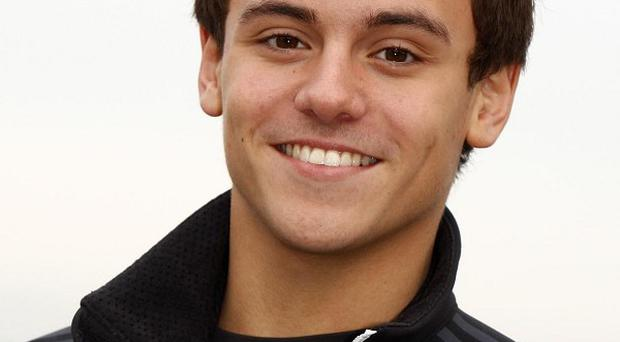 Tom Daley is helping the celebrities on the new ITV show Splash