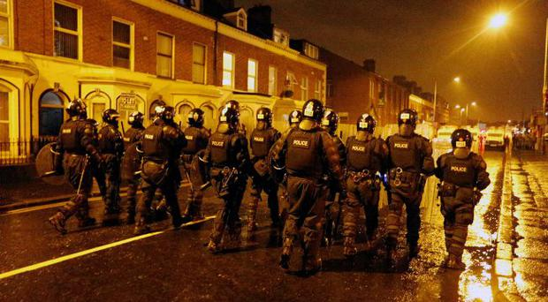Double trouble: violence after a flag protest in east Belfast