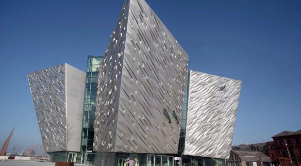 Positive: part of Bishop Harold Miller's New Year message focused on successes such as Titanic Belfast