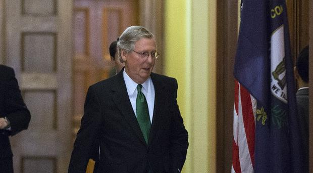 Senate Minority Leader Mitch McConnell wants to address America's 'excessive spending' (AP/Alex Brandon)