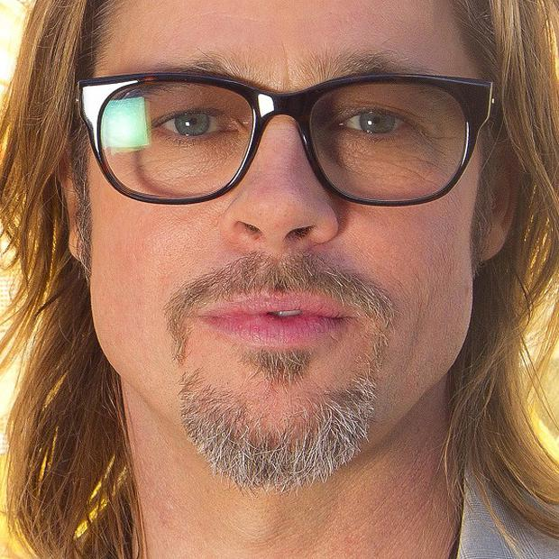 Brad Pitt has joined the Chinese version of Twitter