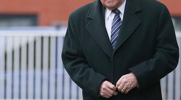 Broadcaster Stuart Hall pleaded not guilty to the sexual abuse of young girls