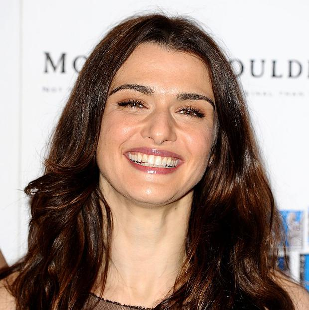 Rachel Weisz doesn't talk about her work at home