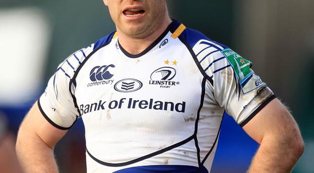 Gordon D'Arcy, pictured, Jonny Sexton and Ian Madigan scored a try apiece for Leinster