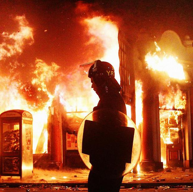 The head of the International Red Cross has warned that we may see a repat of the London 2011 riots due to rising levels of poverty