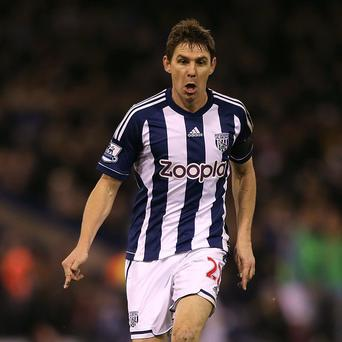 West Brom are to assess the knee injury Zoltan Gera sustained on Saturday