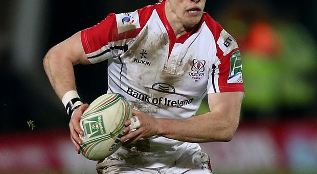 Andrew Trimble crossed over for one of Ulster's five tries