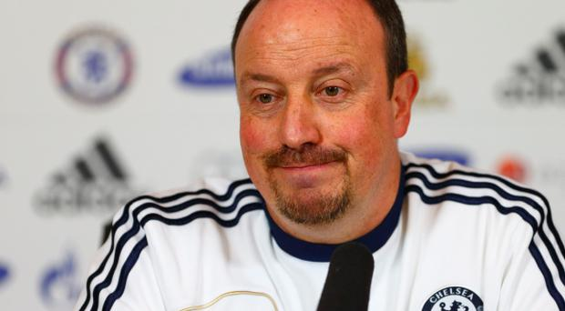 'You have to have new players and carry on winning games,' said Chelsea manager Rafael Benitez