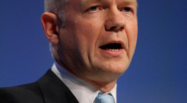 Foreign Secretary William Hague said Syrian President Bashar Assad's departure from power 'is inevitable'