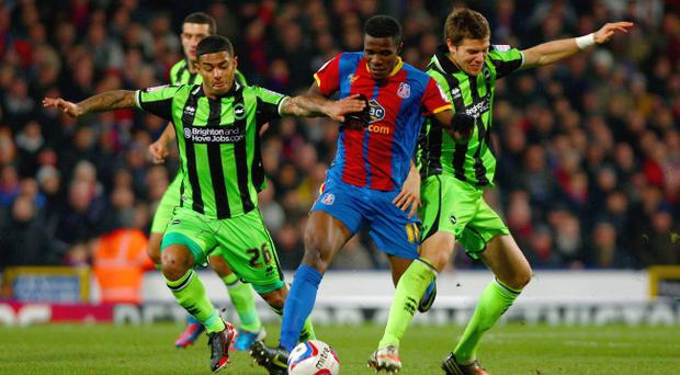 Man United have made an approach to sign Crystal Palace winger Wilfried Zaha