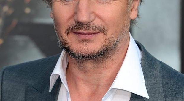 Camera shy: Liam Neeson says sons should shun acting