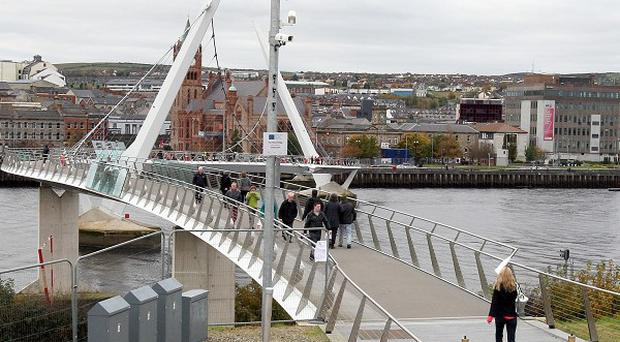 The European Union has withheld money from a consultancy contract which helped deliver Derry's Peace Bridge