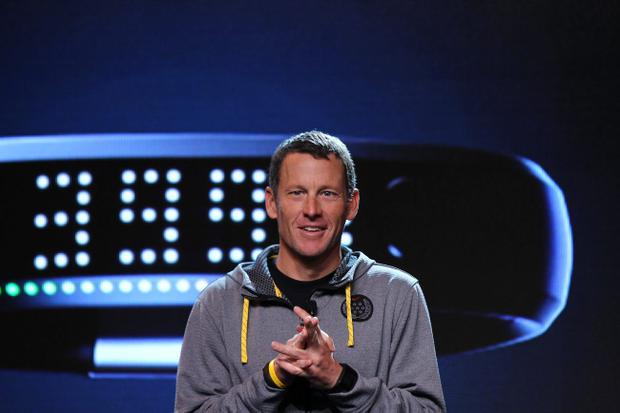 Lance Armstrong's move is seen by some as an attempt to win back public support