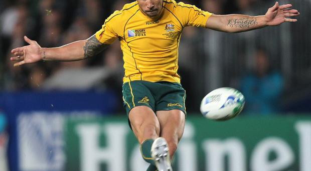 Quade Cooper is the latest rugby union player to take up boxing