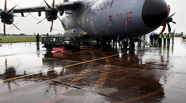 The MoD has been spending heavily as it seeks to plug the gap caused by delays to programmes including the A400M transport aircraft
