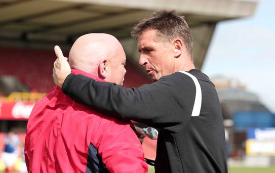 Crusaders boss Stephen Baxter is ready for another classic Irish Cup encounter against David Jeffrey's Linfield