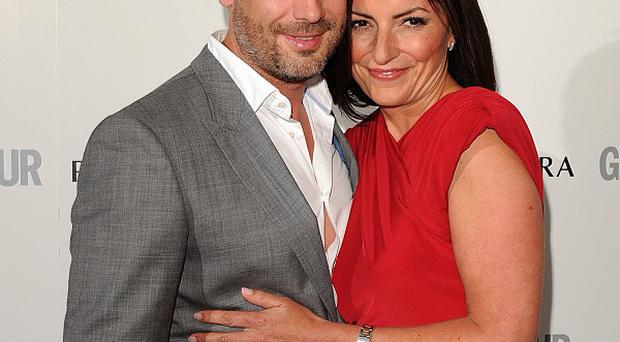 Davina McCall said husband Matthew Robertson never wanted her to spend the night in the Big Brother house